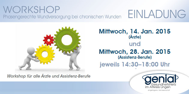 Wundworkshop am 14.01.2015